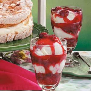 Two-Berry Parfaits Recipe