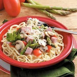 Asparagus Pasta Primavera Recipe