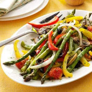 Grilled Asparagus Medley Recipe