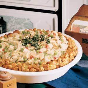 Turkey Dressing Pie Recipe