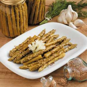 Dilly Pickled Asparagus Recipe