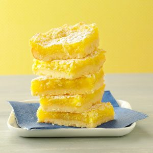 Macadamia Lemon Bars Recipe