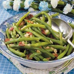 Quick Green Beans with Bacon Recipe
