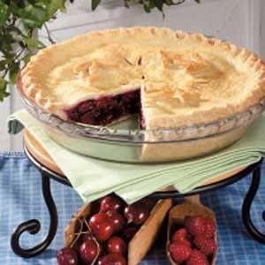 Raspberry Cherry Pie Recipe