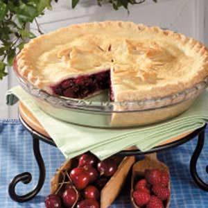 Raspberry Cherry Pie