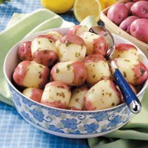 Lemon Parsley Potatoes Recipe