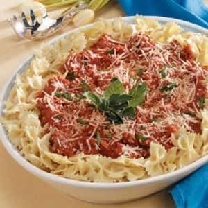 Sausage Pasta Sauce Recipe