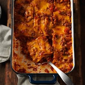 Bacon-Colby Lasagna Recipe