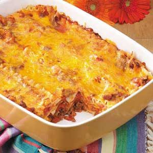 Bacon-Colby Lasagna