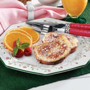 Quick Eggnog French Toast Recipe