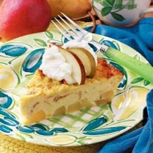 Bread Pudding Pear Pie Recipe