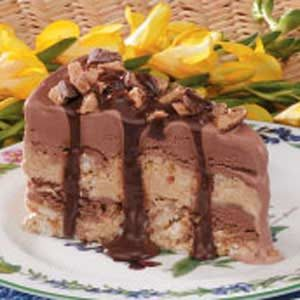Macaroon Ice Cream Torte Recipe