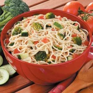 Supreme Spaghetti Salad Recipe