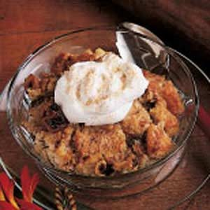 Raisin Date Bread Pudding Recipe
