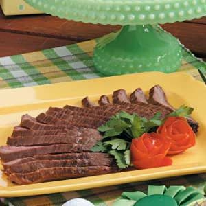 Gingered Flank Steak Recipe