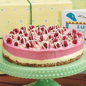 Two-Tone Sherbet Torte Recipe