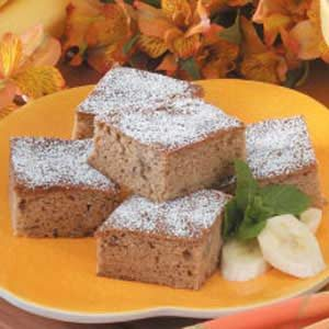 Banana Bread Snack Cakes Recipe