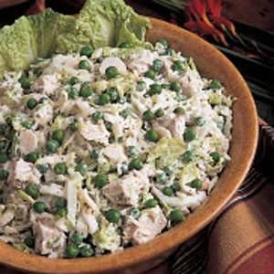 Crunchy Pork and Rice Salad