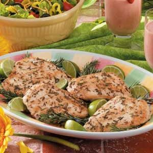 Rosemary Lime Chicken Recipe