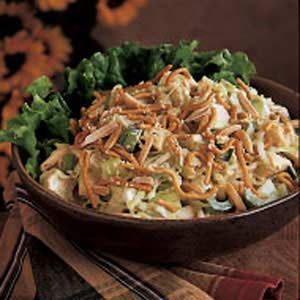 Turkey Almond Salad