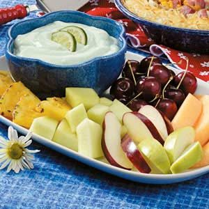 Lime Fruit Dip Recipe
