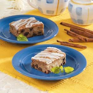 Cinnamon Coffee Bars Recipe
