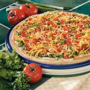 Contest-Winning BLT Pizza Recipe