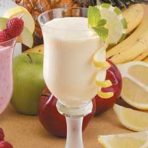 Lemon Pineapple Smoothies Recipe