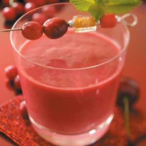 Cherry Yogurt Smoothies Recipe