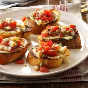 Bruschetta from the Grill Recipe