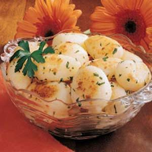 Garlic Potato Balls Recipe
