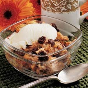 Easy Bread Pudding for 2