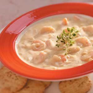 Shrimp Chowder Recipe photo by Taste of Home