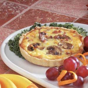 Rustic Quiches Recipe