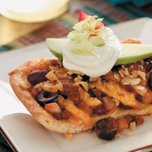 Mexican Chili Pizza Recipe