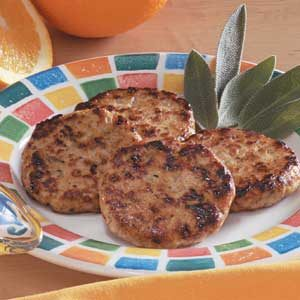 Chicken Sausage Patties Recipe