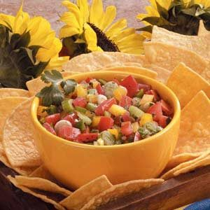 Fresh Vegetable Salsa Recipe