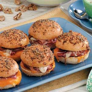 Hot Colby Ham Sandwiches Recipe