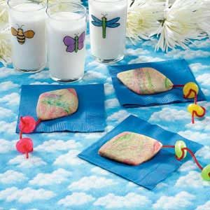 Tie-Dyed Kite Cookies Recipe