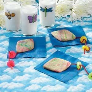 Tie-Dyed Kite Cookies Recipe