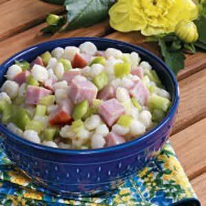 Ham 'n' Hominy Salad Recipe