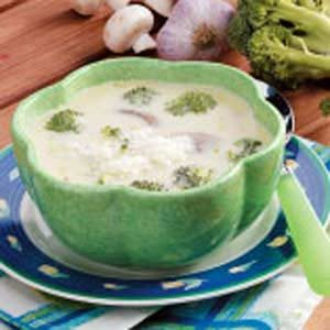 Broccoli Barley Soup Recipe