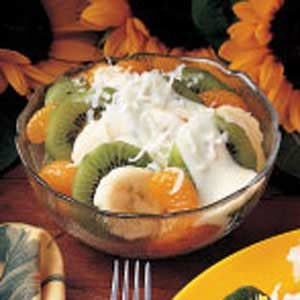 Tropical Fruit Dessert Recipe