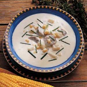 Corn and Sausage Chowder
