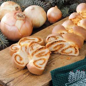 Braided Onion Loaf Recipe