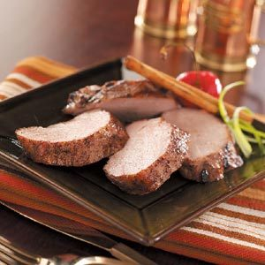 Cinnamon Pork Tenderloin Recipe
