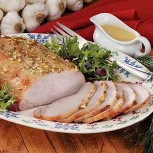 Honey-Mustard Pork Roast Recipe
