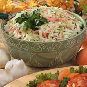 Home-Style Coleslaw Recipe
