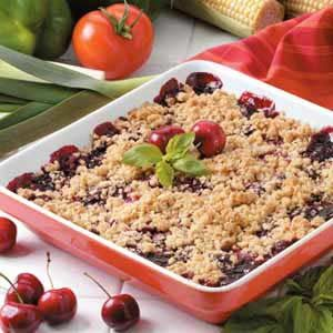 Cheery Cherry Crisp Recipe