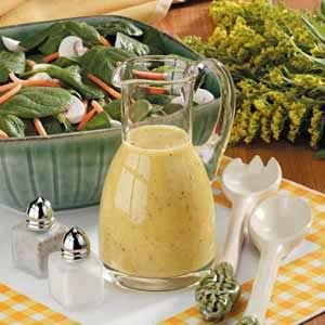 Makeover Spinach Salad Dressing Recipe